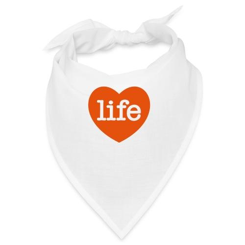 LOVE LIFE heart - Bandana