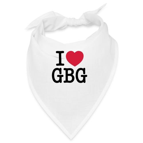 I love GBG - Snusnäsduk