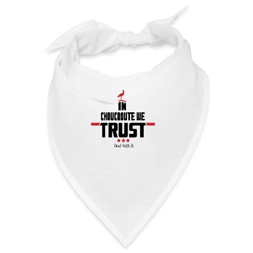 In Choucroute We Trust - Bandana