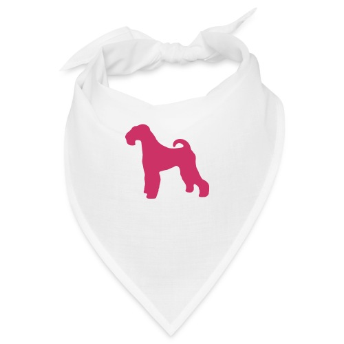 PINK Airedale Terrier - Bandana