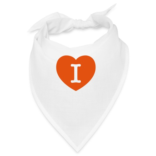I - LOVE Heart - Bandana