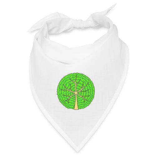 Baum, rund, hellgrün - Bandana