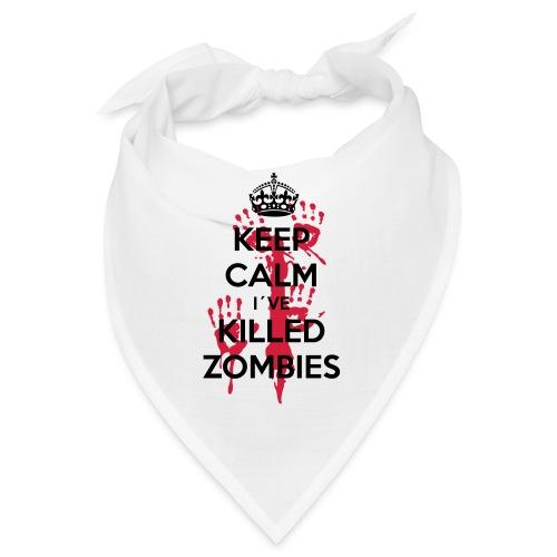 keep calm i have killed zombies - Bandana