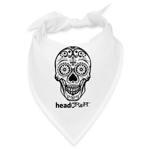 Skull & Logo black - Bandana