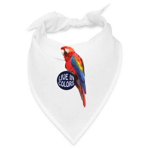 Parrot - Live in colors - Bandana