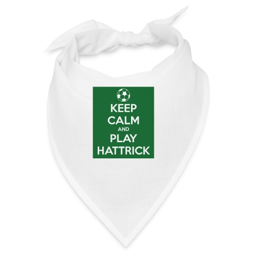 keep calm and play hattrick - Bandana