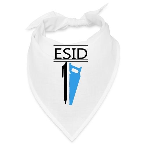 ESID Zwart-blauw - Bandana