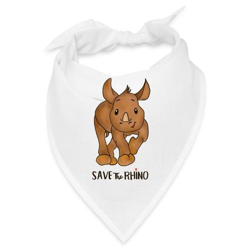 Save the Rhino - Bandana