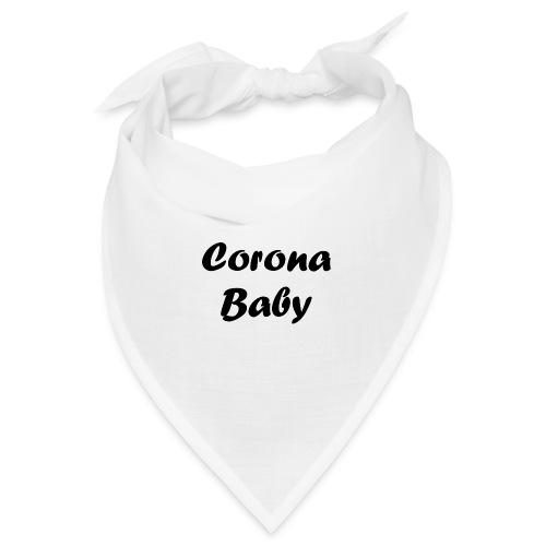 Corona baby merchandise black - Bandana
