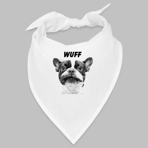 Wuff - Hundeblick - Hundemotiv Hundekopf - Bandana