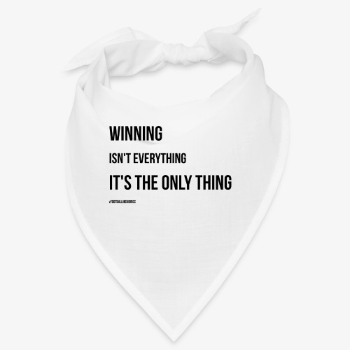 Football Victory Quotation - Bandana