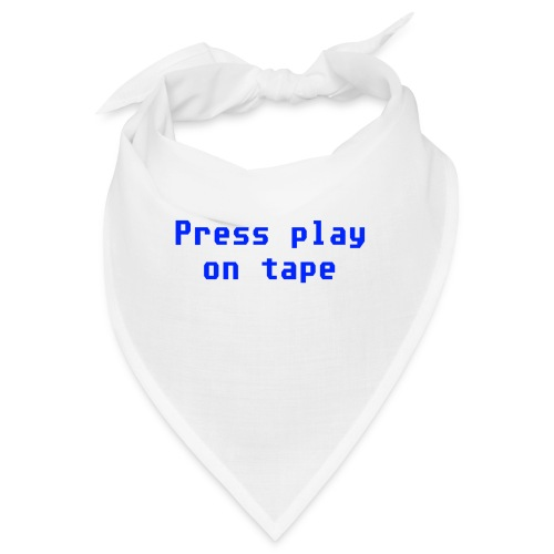 press play on tape blu - Bandana