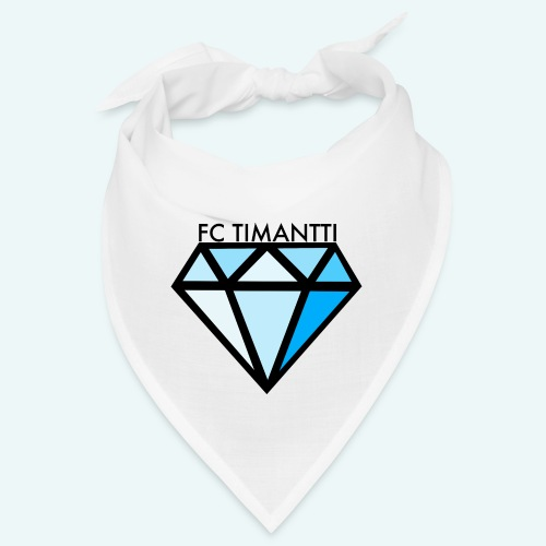 FC Timantti mustateksti - Bandana