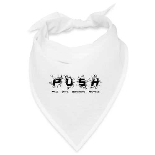 PUSH Black TEE - Bandana