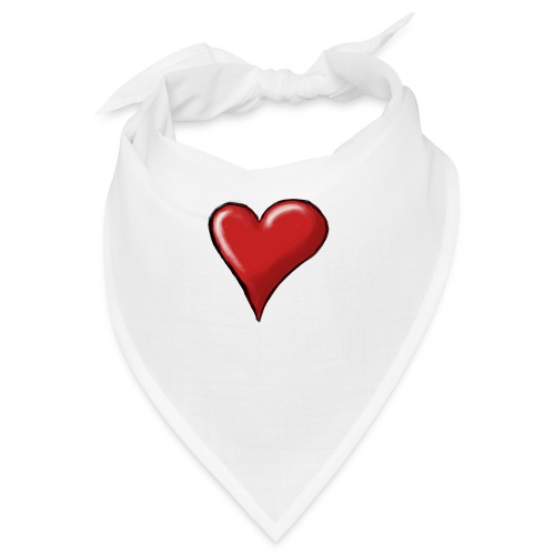 Love (coeur) - Bandana