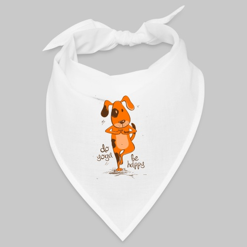 yoga dog - Bandana