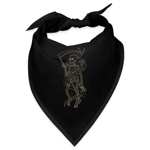 Old Skull gold - Bandana