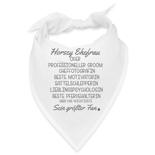 Horsey Ehefrau - Turniertrottel - Bandana
