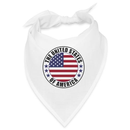 The United States of America - USA flag emblem - Bandana