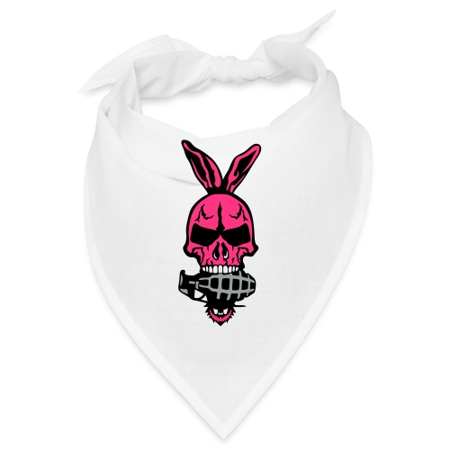 tete mort oreille lapin skull grenade 1 - Bandana
