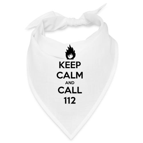 KEEP CALM and CALL 112 - Bandana