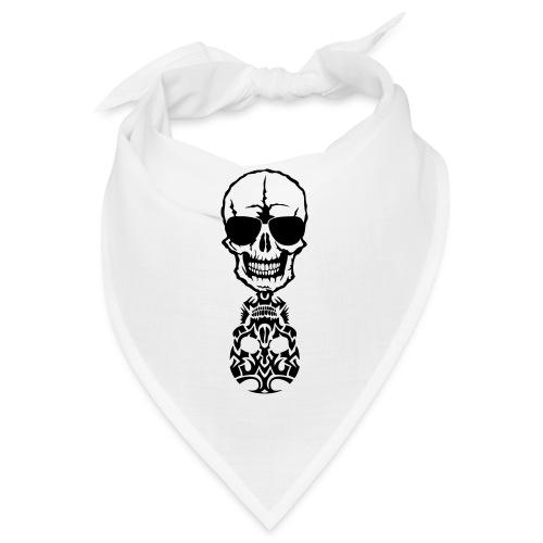 tete mort skull tribal reflet dead death - Bandana