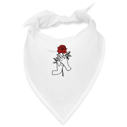 Fiore rosso - Bandana