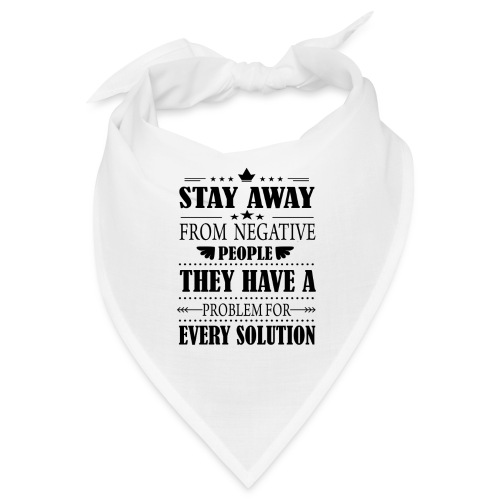 Stay away - Bandana