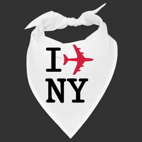 I plane NY - Snusnäsduk