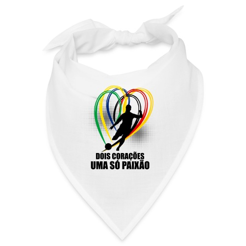 Fußball-Shirt Brasilien - Deutschland - Bandana