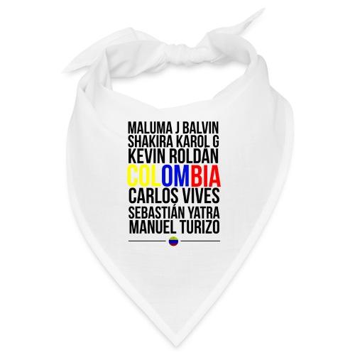 Reggaeton Shirt Kolumbien - Bandana