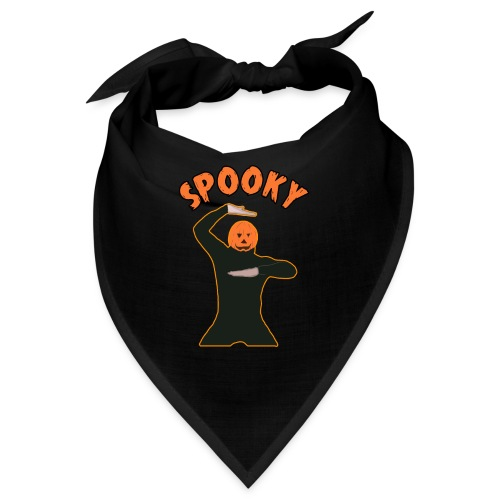 The Spooky Spooktober Pumpkin Dance Meme - Bandana