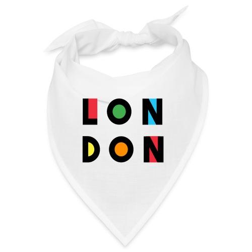Vintage London Souvenir - Retro Modern Art London - Bandana