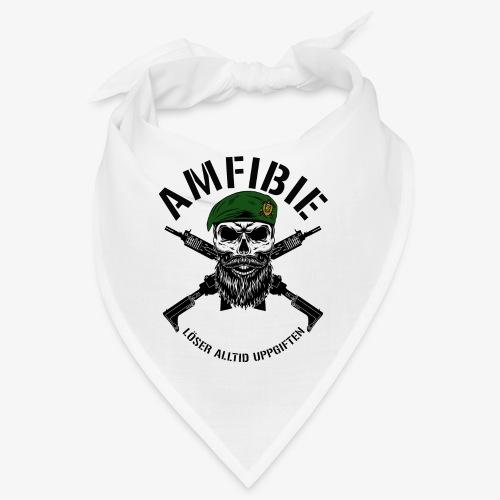 AMFIBIE - Korslagda Ak 5C - Snusnäsduk