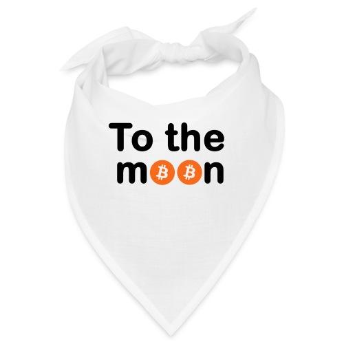To the moon orange - Bandana