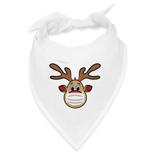 Ugly Xmas Rudi Reindeer mit Maske - Bandana