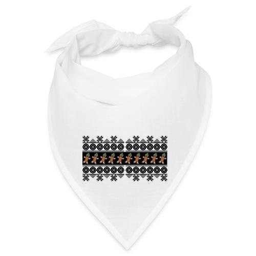 Lebkuchen Männchen für hässliche Weihnachten - Bandana