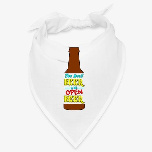 The Best BEER is an open BEER - Bandana