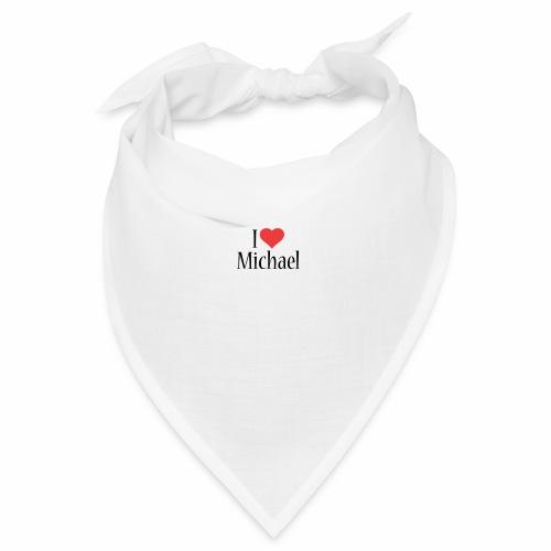 Michael designstyle i love Michael - Bandana