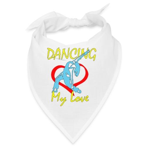 Dancing my Love HBlau - Bandana
