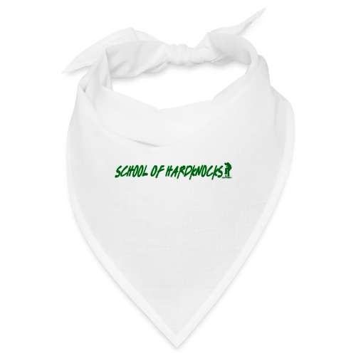 school of hardknocks ver.0.1. green - Bandana