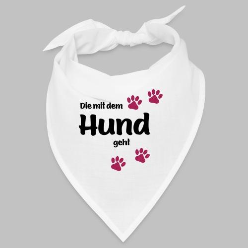 Die Mit Dem Hund Geht - Edition Colored Paw - Bandana