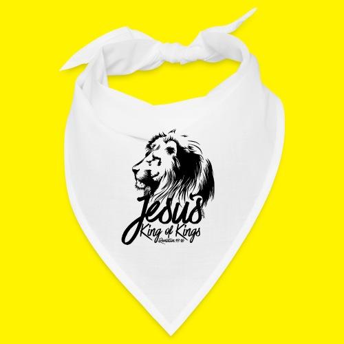 JESUS - KING OF KINGS - Revelations 19:16 - LION - Bandana