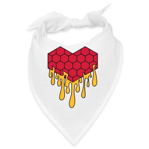 Honey heart cuore miele radeo - Bandana