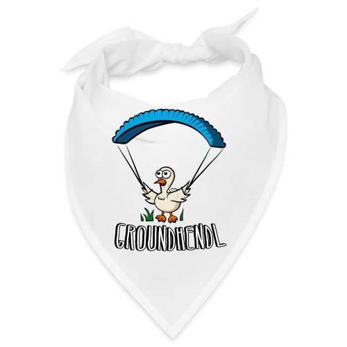 Groundhendl Groundhandling Hendl Paragliding Huhn - Bandana
