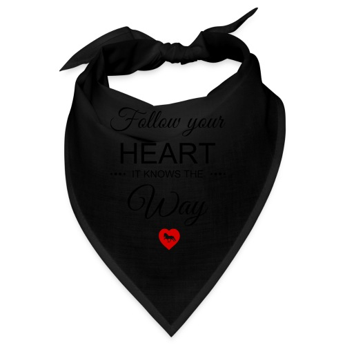 follow your heartbesser - Bandana