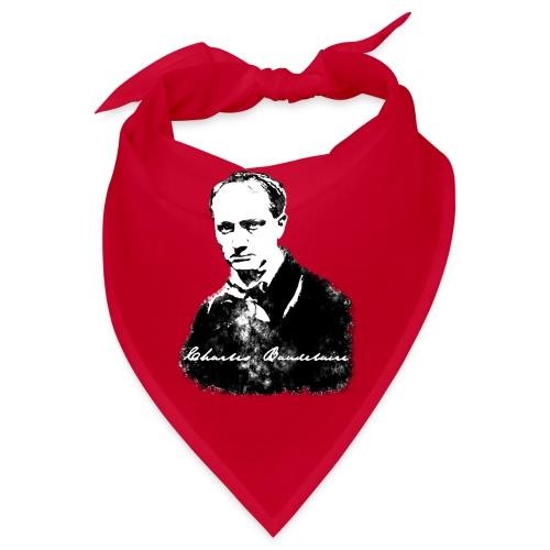 Baudelaire (fond blanc) + signature - Bandana