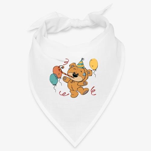 Little teddy bear at the party - Bandana