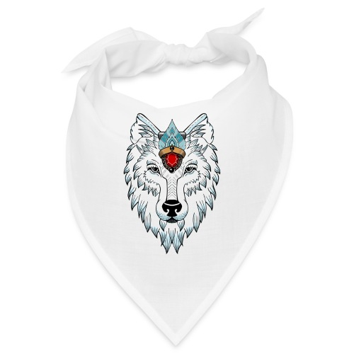 female wolf newschool - Bandana