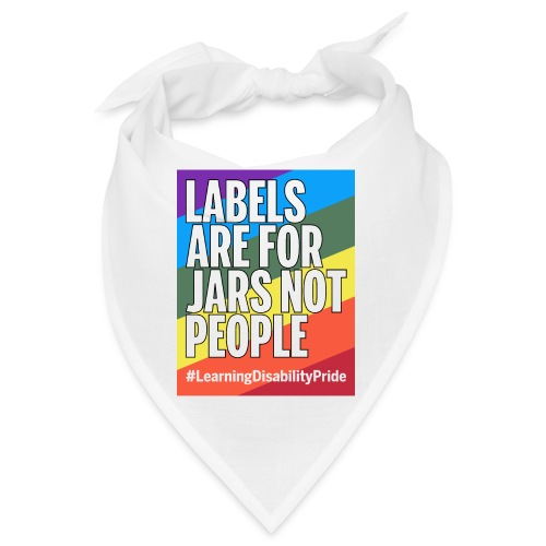 Labels are for Jars, Not People - Bandana